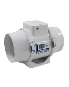 Blauberg In Line Bathroom Extractor Fan Turbo E Mixed Flow Loft Mounted Ventilator