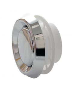 Chrome Adjustable Round Ventilation Diffuser Extract Air Valve Circular Ceiling Mounted Vent Grille MVHR