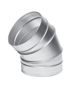 Blauberg 45 Degree Ventilation Ducting Metal Bend