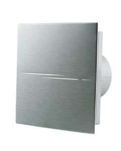 Blauberg Calm Design Hi Tech Low Noise Energy Efficient Bathroom Extractor Fan Chrome 100mm