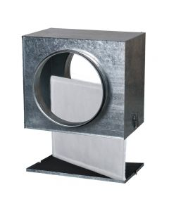 Blauberg In Line Circular Duct Mounted Filter Box