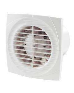 "100mm 4"" - Blauberg Line Powerful Slimline Extractor Fan - Bathroom Kitchen Wet Shower Room"