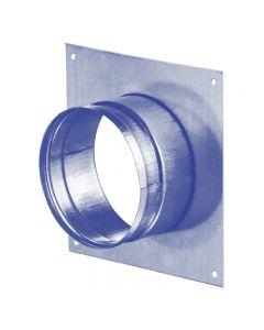 Blauberg Metal Spigot Wall Ducting Plate