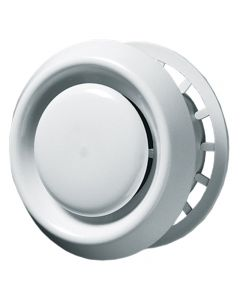 Adjustable Round Ventilation Diffuser Extract Air Valve Circular Ceiling Mounted Vent Grille MVHR