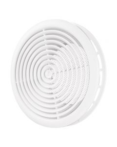 Ceiling Mounted Vent Grille Adjustable Ventilation Diffuser Extract Air - White