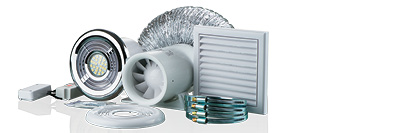 Extractor Fan Kits & Other Fans