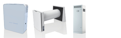 Decentralised & Single Room Heat Recovery Ventilation Units